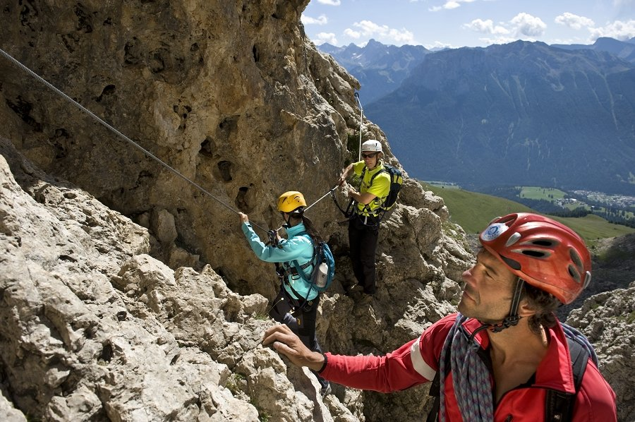 Climbing vacation in South Tyrol – Climbing trails in the Dolomites